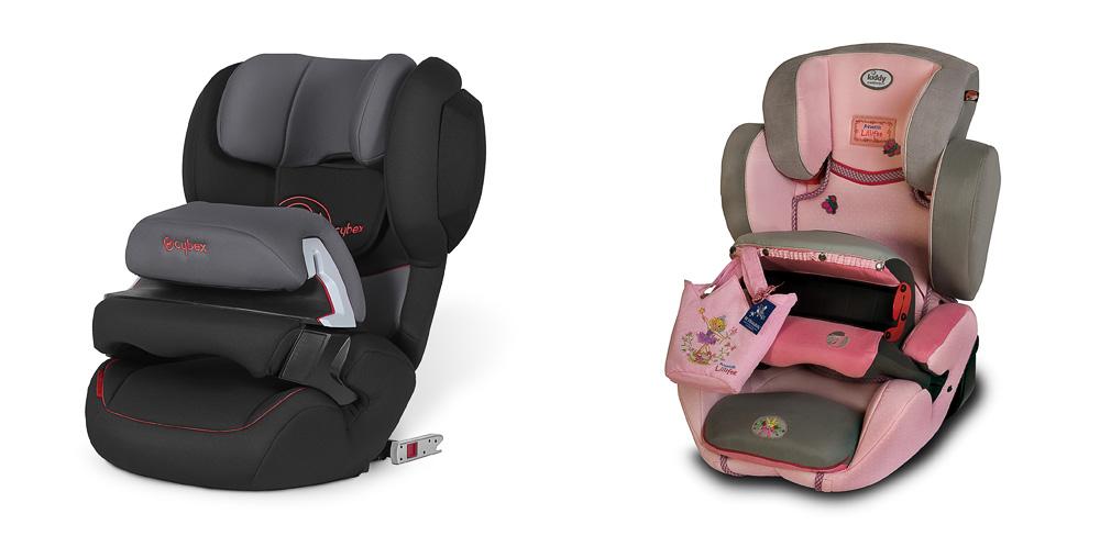 1—2—3 — детские автокресла, которые предназначаются для малышей весом 9—36 кг, то есть, примерно до 12 лет; 2—3 — для детей весом в 15—26 кг эти детские автокресла года подойдут также до 12 лет.